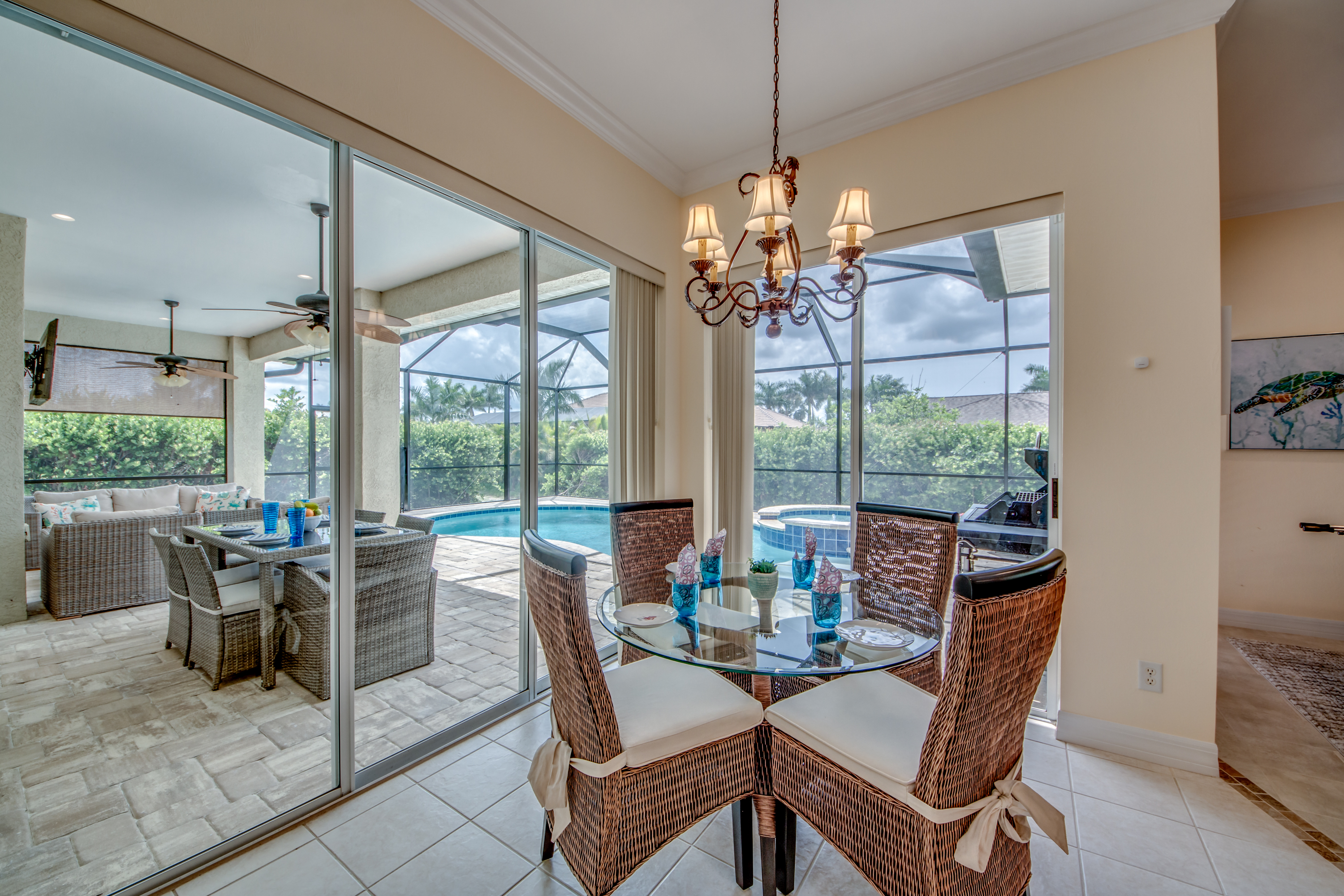 Cape Coral Vacation Rental Dining Room