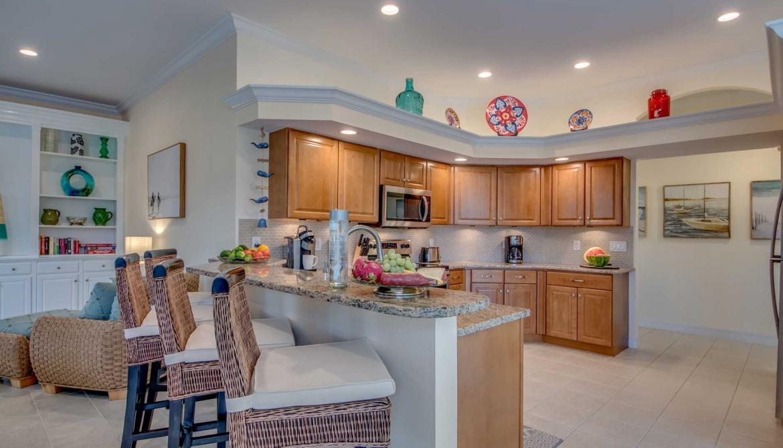 Fully Equipped Kitchen Casa Bonita Vacation Rental Home Casa Bonita Cape Coral Florida